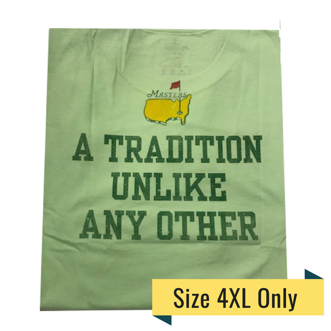Masters Undated T-Shirt Tradition - Mint Green