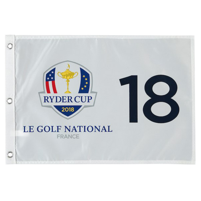 2018 Ryder Cup Screen Printed Pin Flag- Le Golf National France