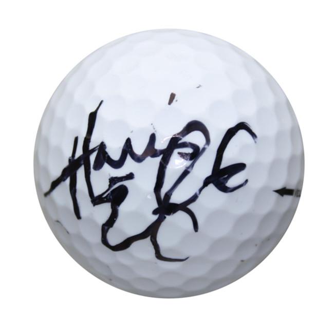 Harris English Autographed Masters Golf Ball