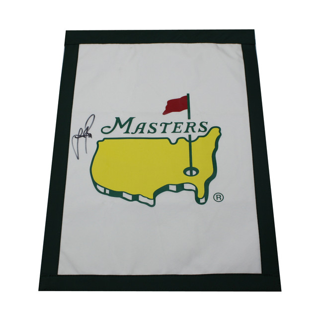 Justin Rose Autographed Masters Garden Flag