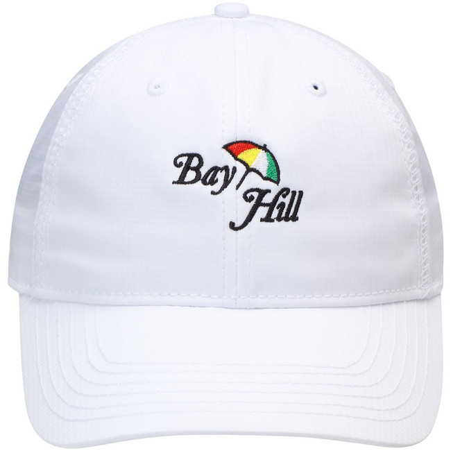 Women's Bay Hill White Tech Hat by Kate Lord