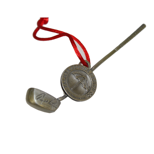 Arnold Palmer Golf Club Christmas Ornament