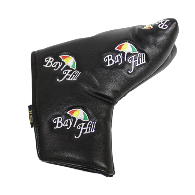 Arnold Palmer Bay Hill Black Leather Putter Cover