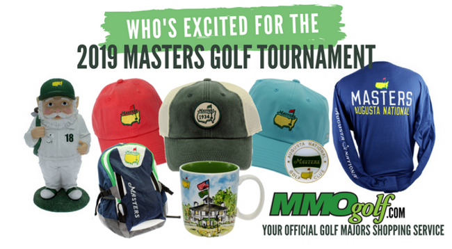 Gearing up for the 2019 Masters Golf Tournament