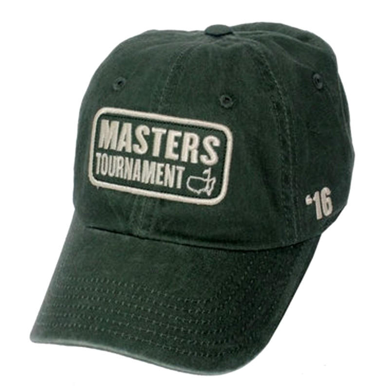 e8fbdbdabc7 Masters 2016 Vintage Green Caddy Hat - 2016 Dated Clearance Hats ...