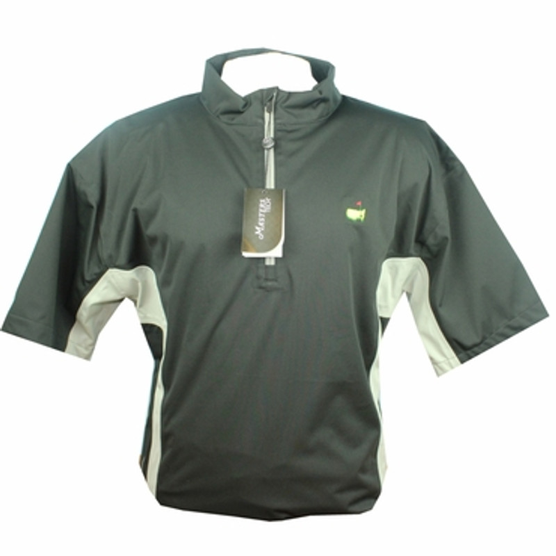 d827bf3c0c2 Masters Tech Black Grey Short Sleeve Wind Shirt - Masters Windshirts ...