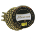 Masters Hat Clip- Black Ball Marker