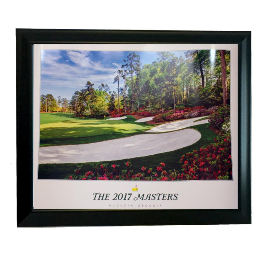 2017 Framed Masters Poster