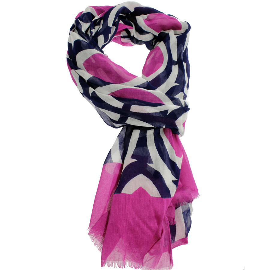Masters Mulberry Print Scarf