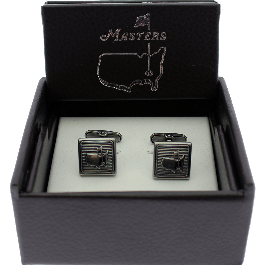 Masters Cuff Links - Antique Silver