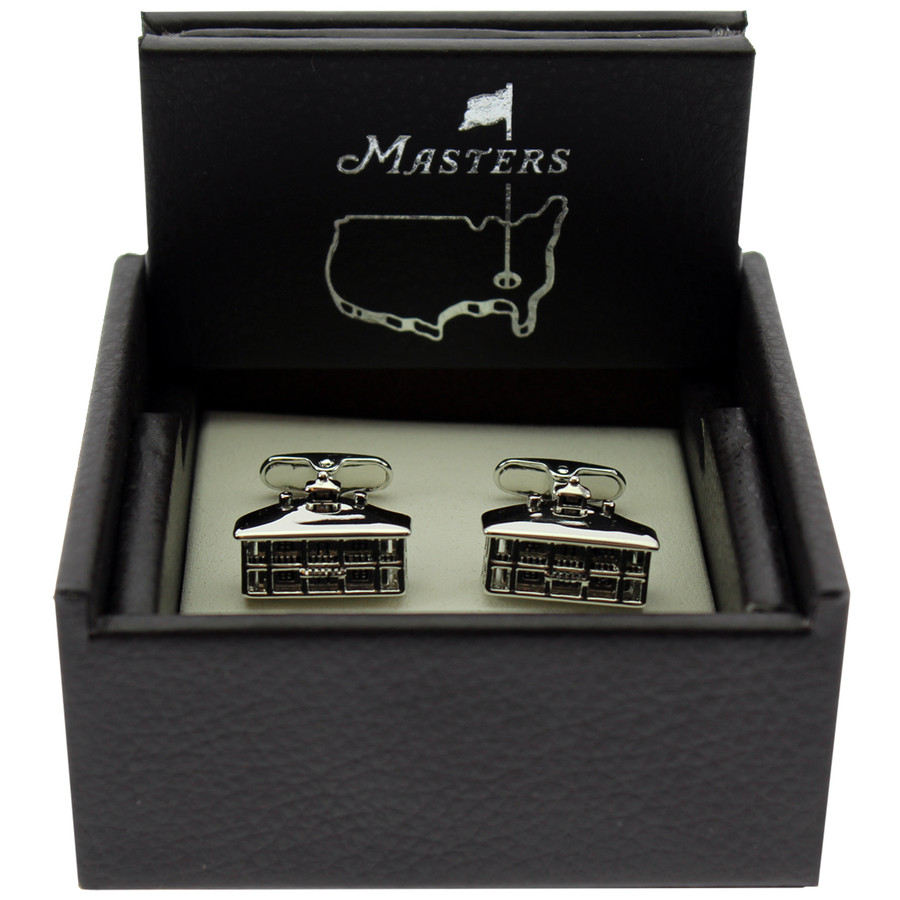 Masters Cuff Links - Silver Clubhouse