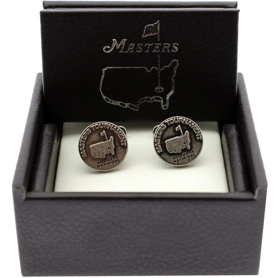 Masters Cuff Links - Silver Emblem