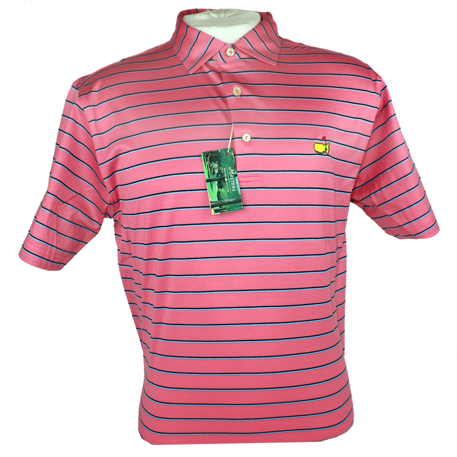 Masters Peter Millar Magnolia & Blues Performance Golf Shirt
