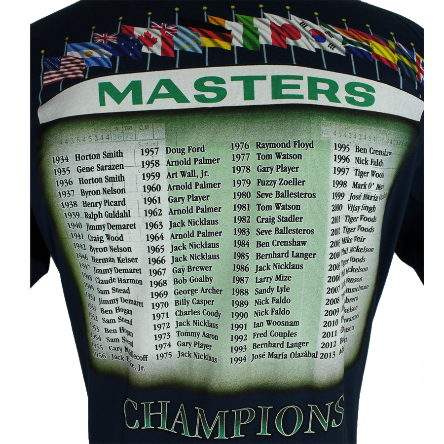 Masters 2014 Dated Navy Champs T-Shirt