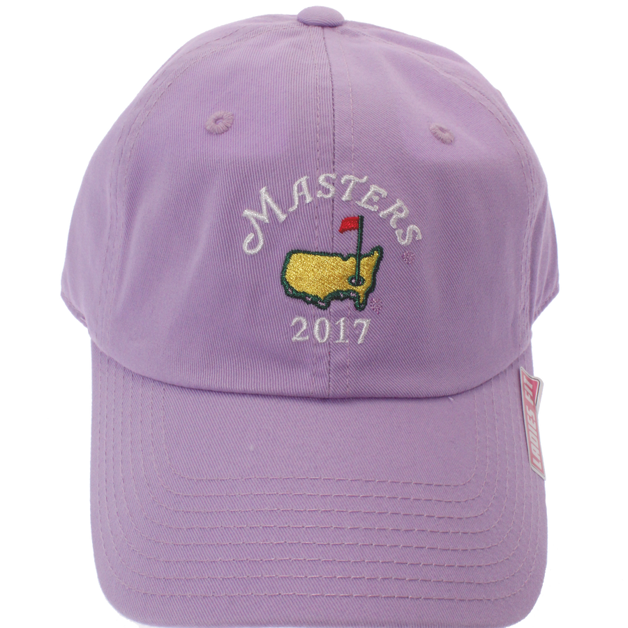 Masters 2017 Dated Light Purple Caddy Hat
