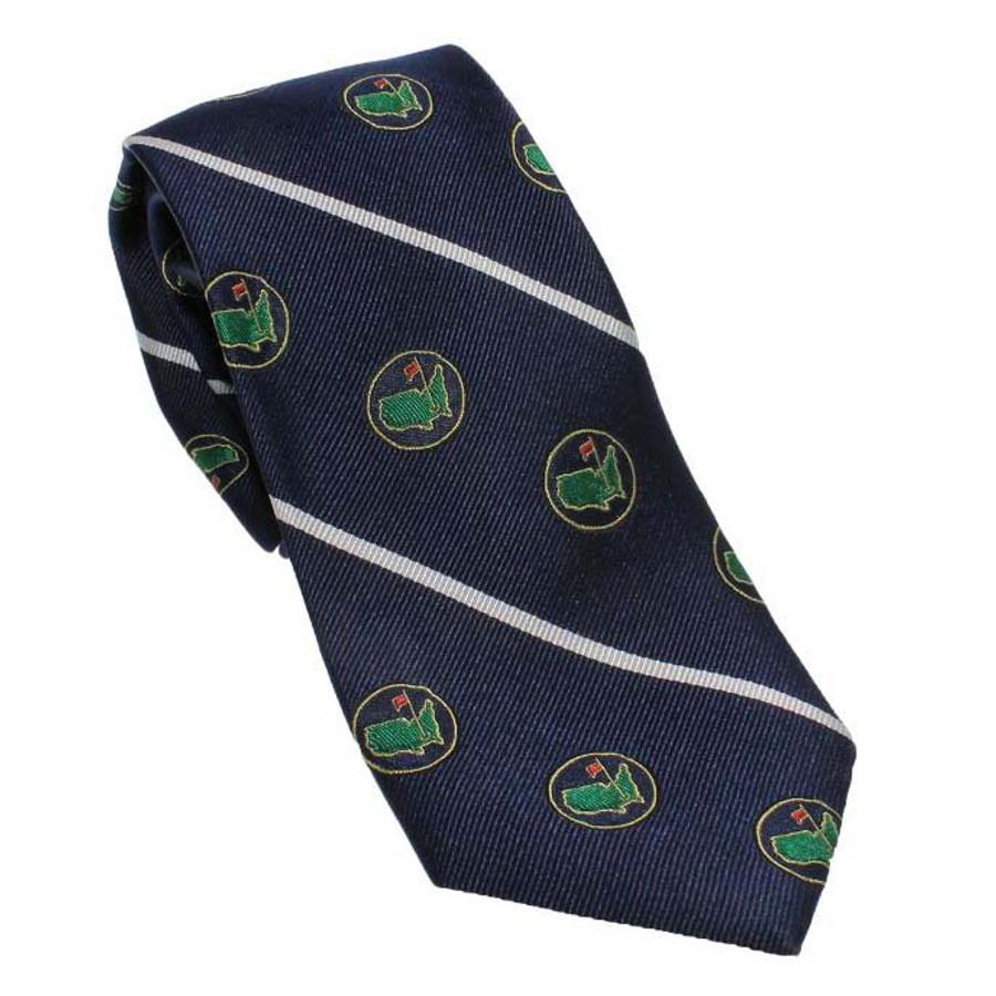 Berckmans Navy Logo Tie