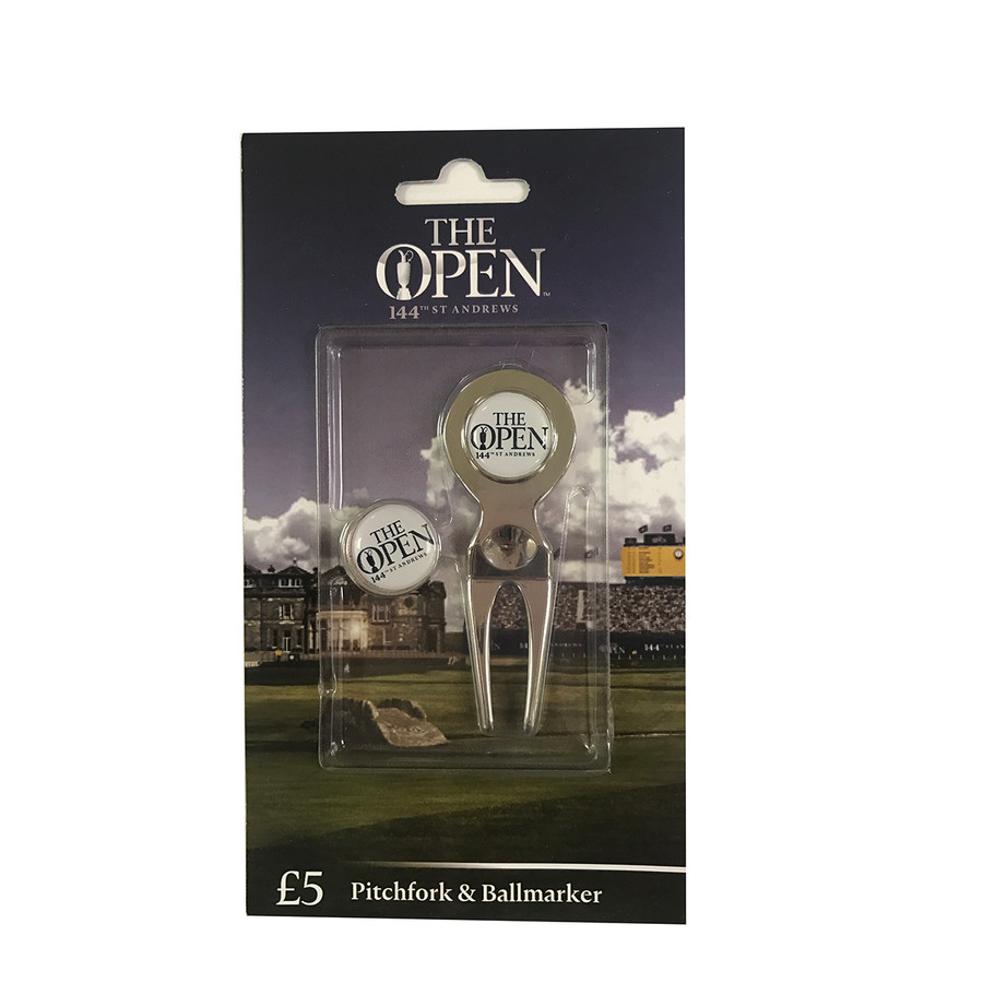 144th Open St Andrews Pitchfork and Ballmarker