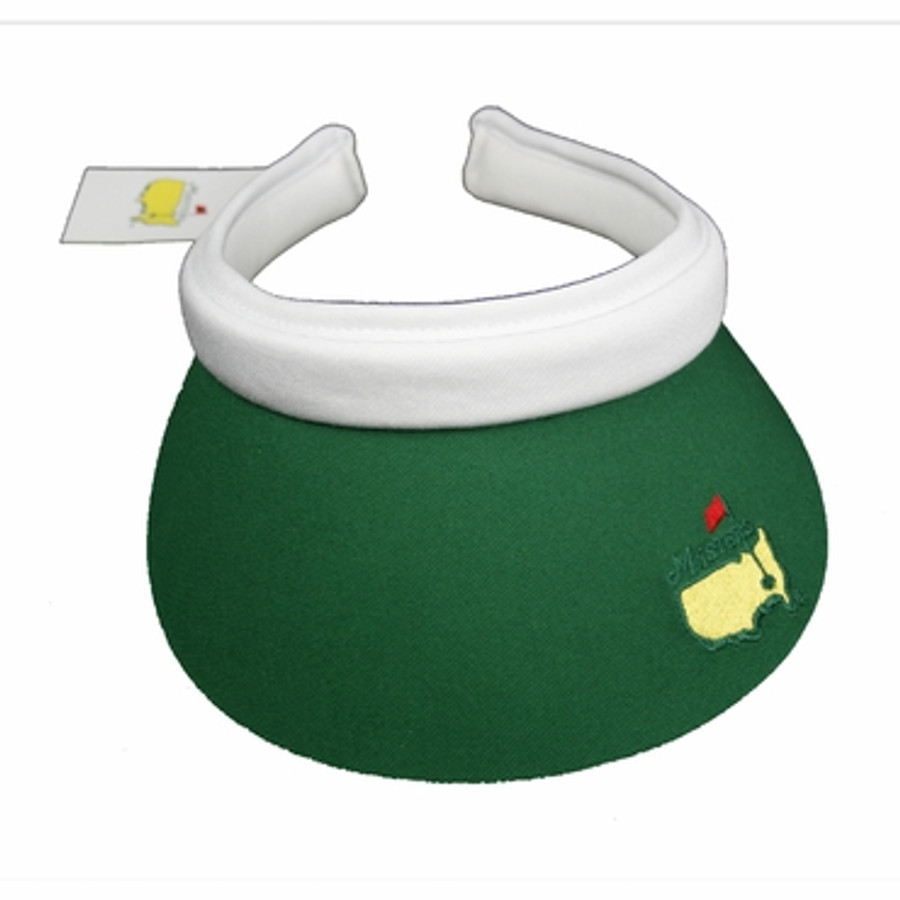Masters Ladies Clip Visor - Green and White