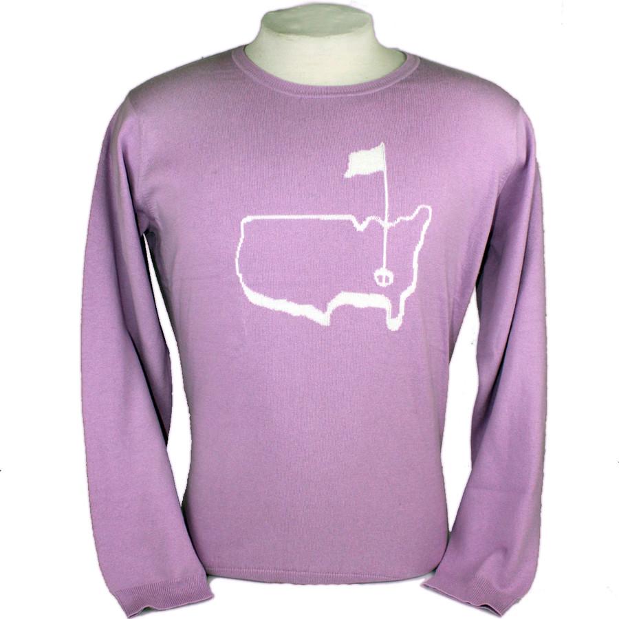 Ladies Magnolia Lane Cashmere Sweater-Lilac