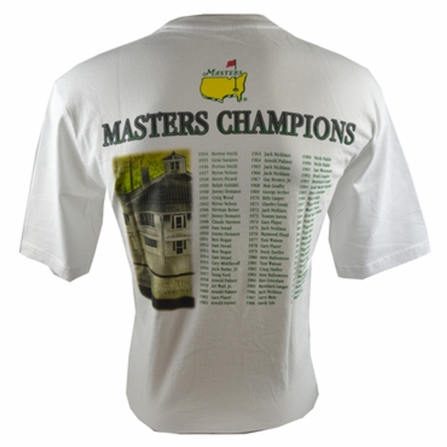 Youth Sized 2015 Masters Champions White T-Shirt