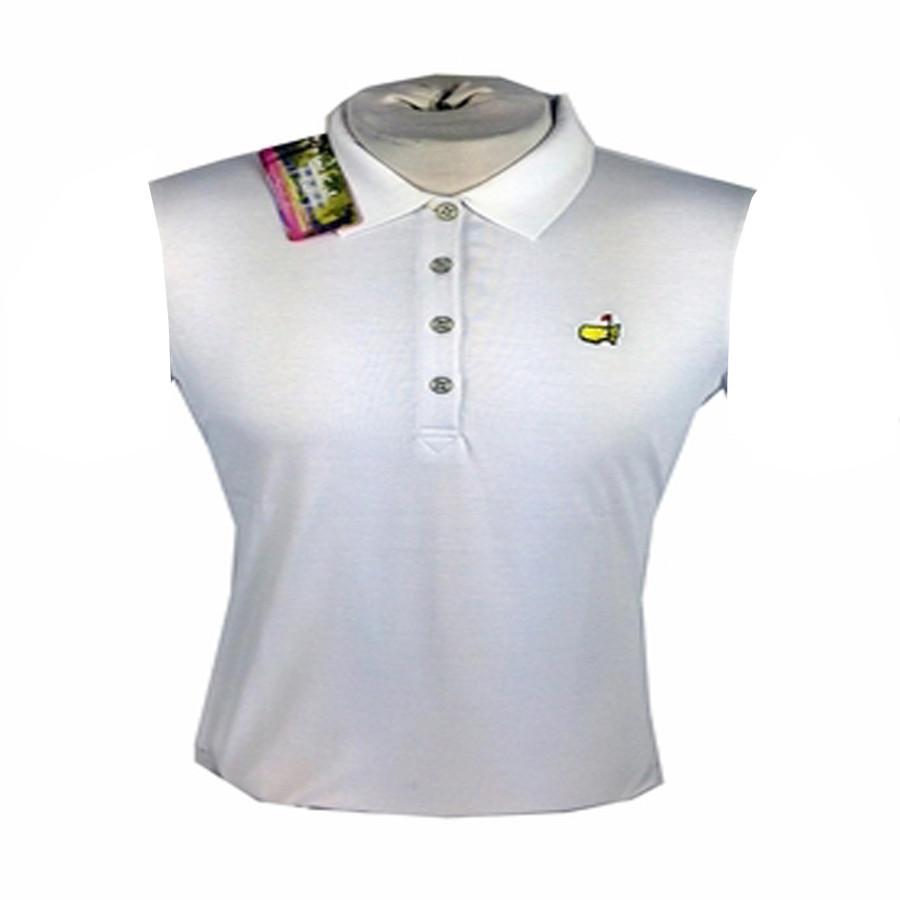 Masters Ladies Golf Shirt White Masters Ladies Children