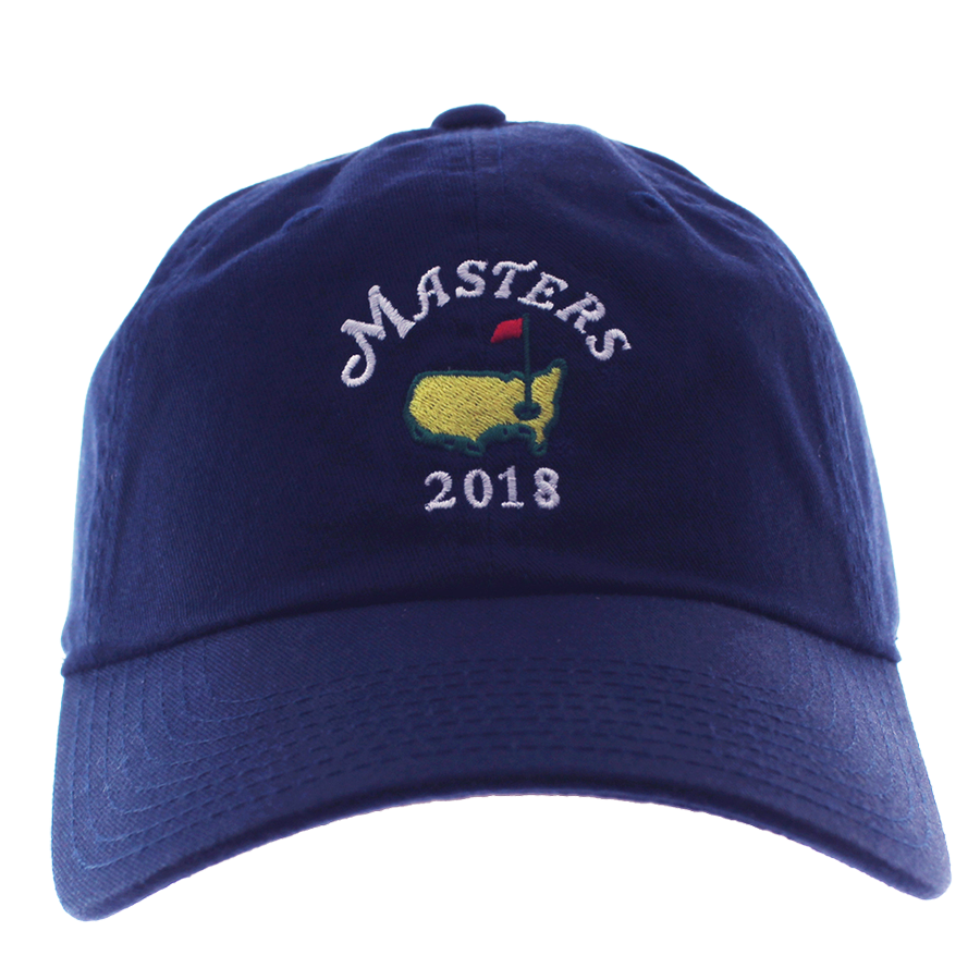 2018 Dated Masters Navy Caddy Small Logo Hat 8e4fb447210