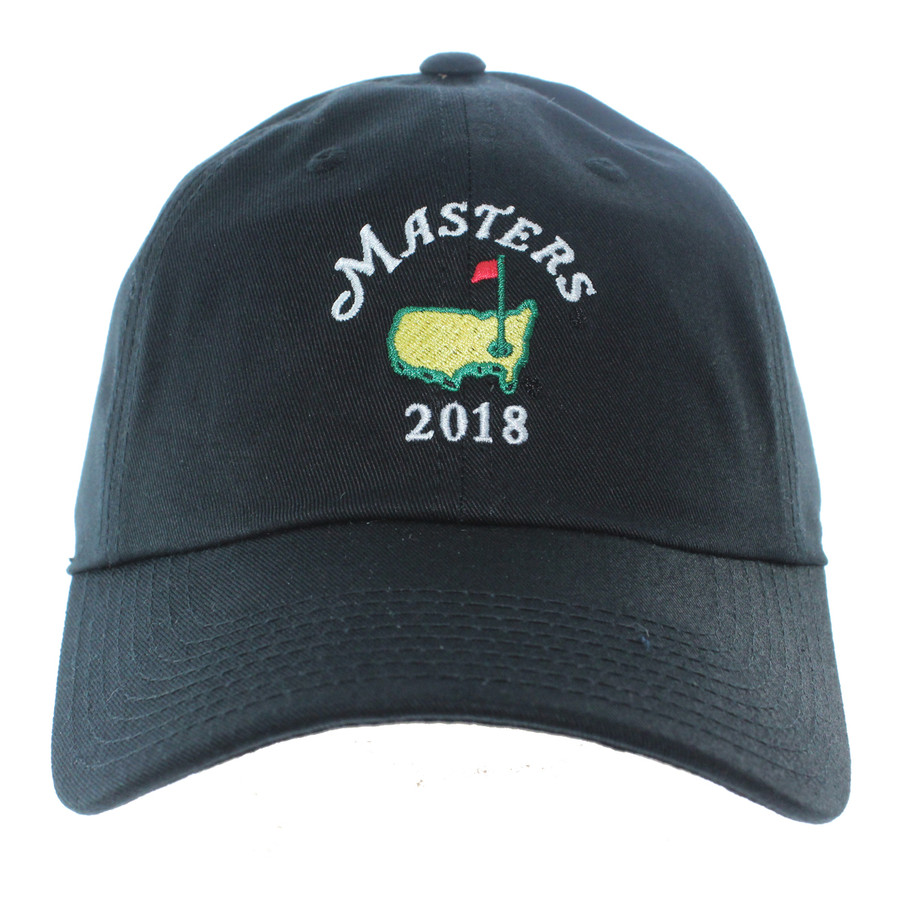 2018 Masters Black Caddy Hat