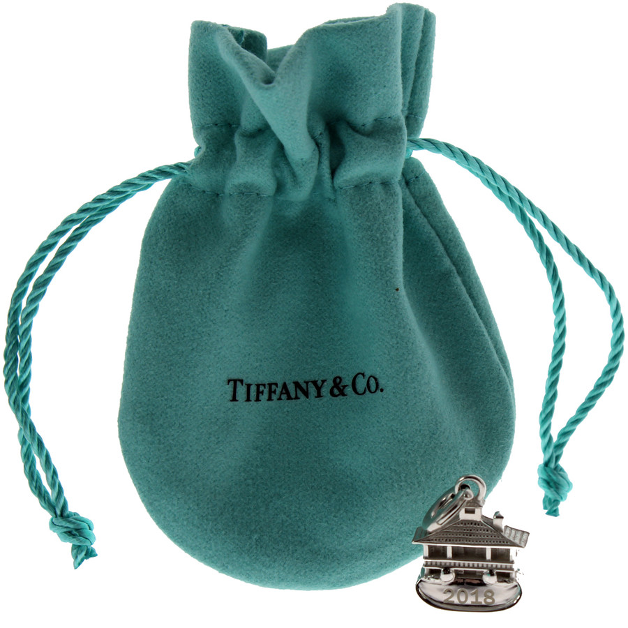 Masters Tiffany Sterling Silver Clubhouse Charm