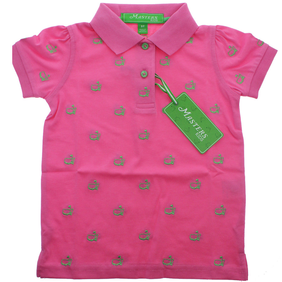 Masters Pink Toddler Polo Shirt