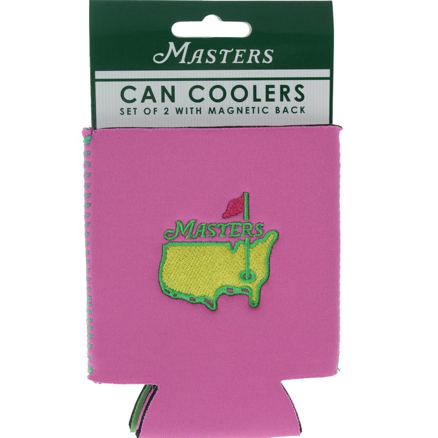 Masters Pink & Lime Koozie