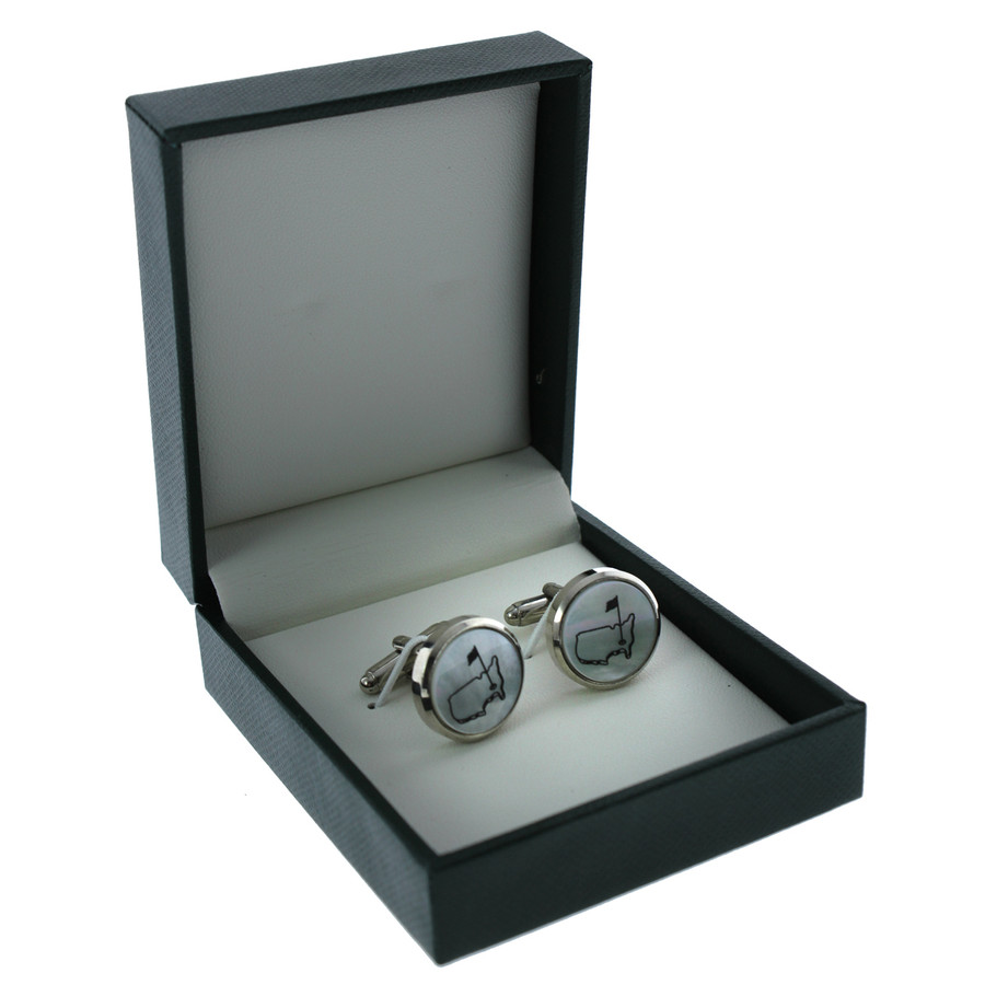Masters Cuff Links - Pearl