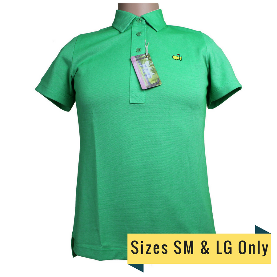 Masters Magnolia Lane Ivy Pique Golf Shirt