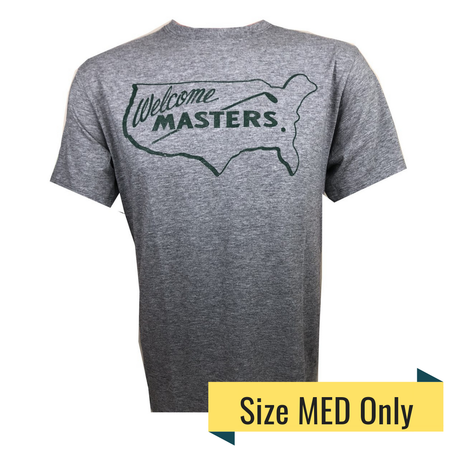 Masters Grey Welcome Masters Vintage T-Shirt