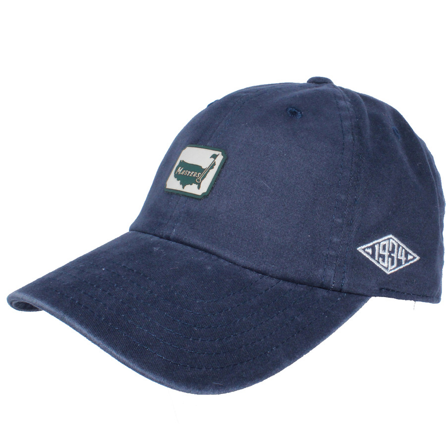 1934 Collection Navy Hat with Square Logo