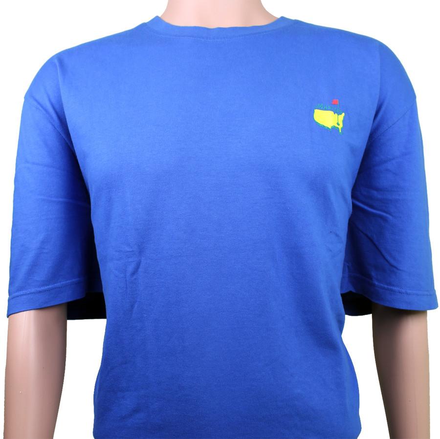 Masters Royal Blue Small Logo T-Shirt