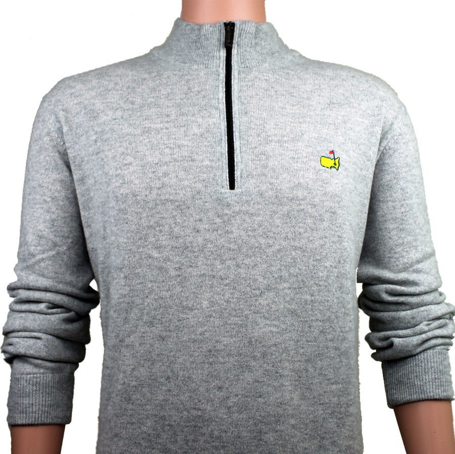 Masters Grey Clubhouse Collection Premium 1/4 Zip Sweate