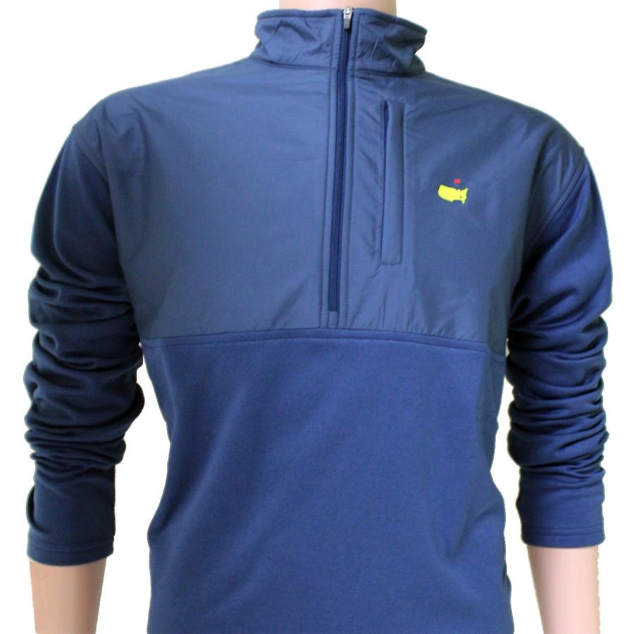 Masters Navy Blue Supreme Performance Tech 1/4 Zip Jacket