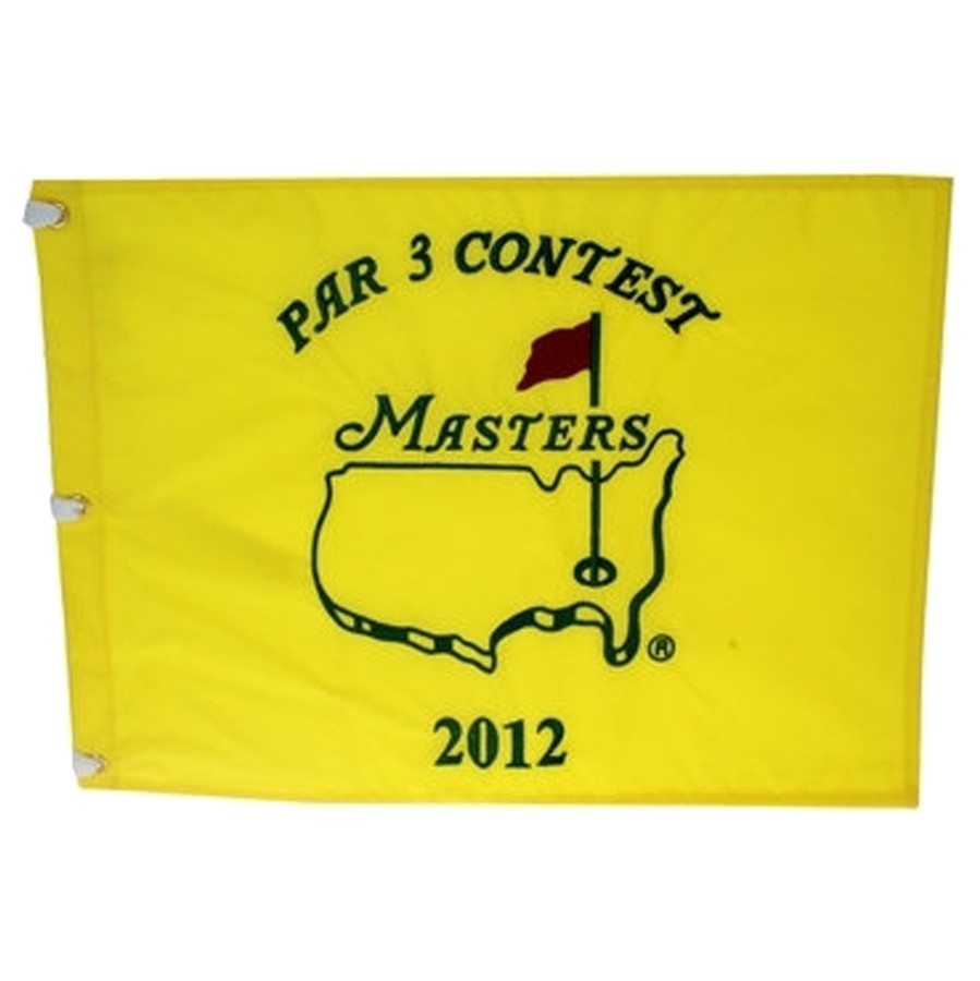 2012 Masters Dated Par 3 Flag