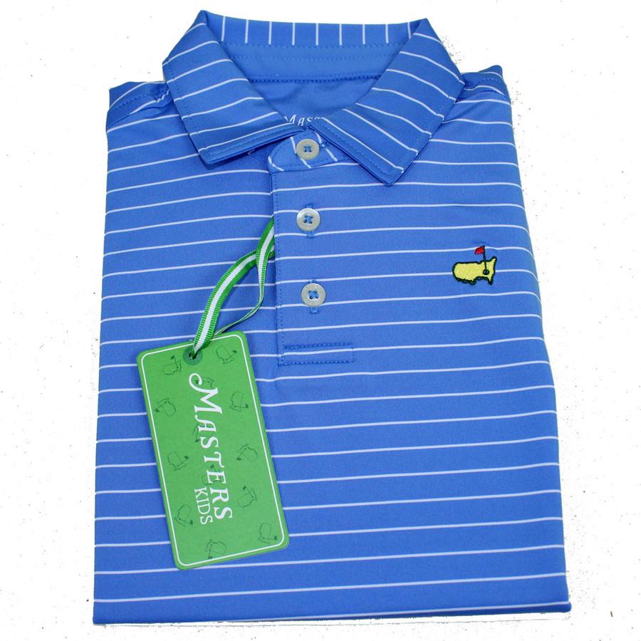 Masters Toddler Light Blue Golf Shirt
