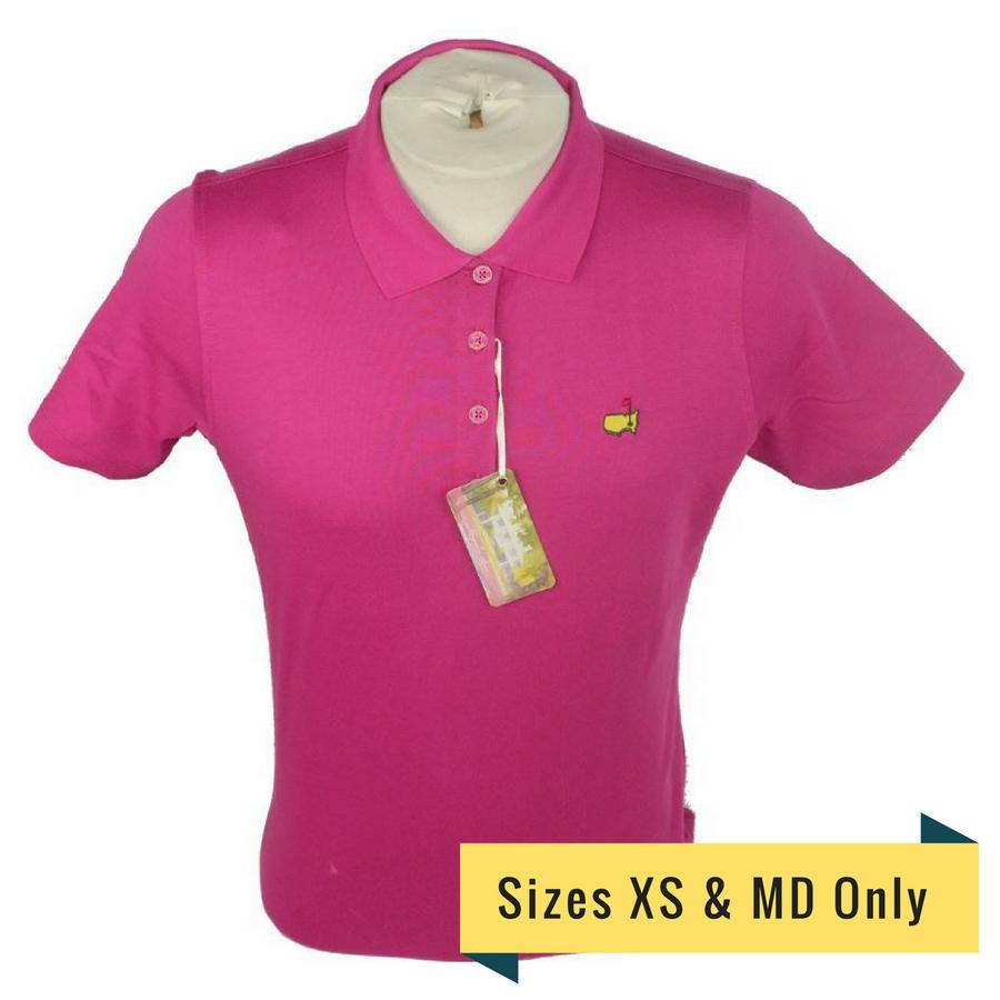 Masters Magnolia Lane Ladies Mulberry Golf Shirt
