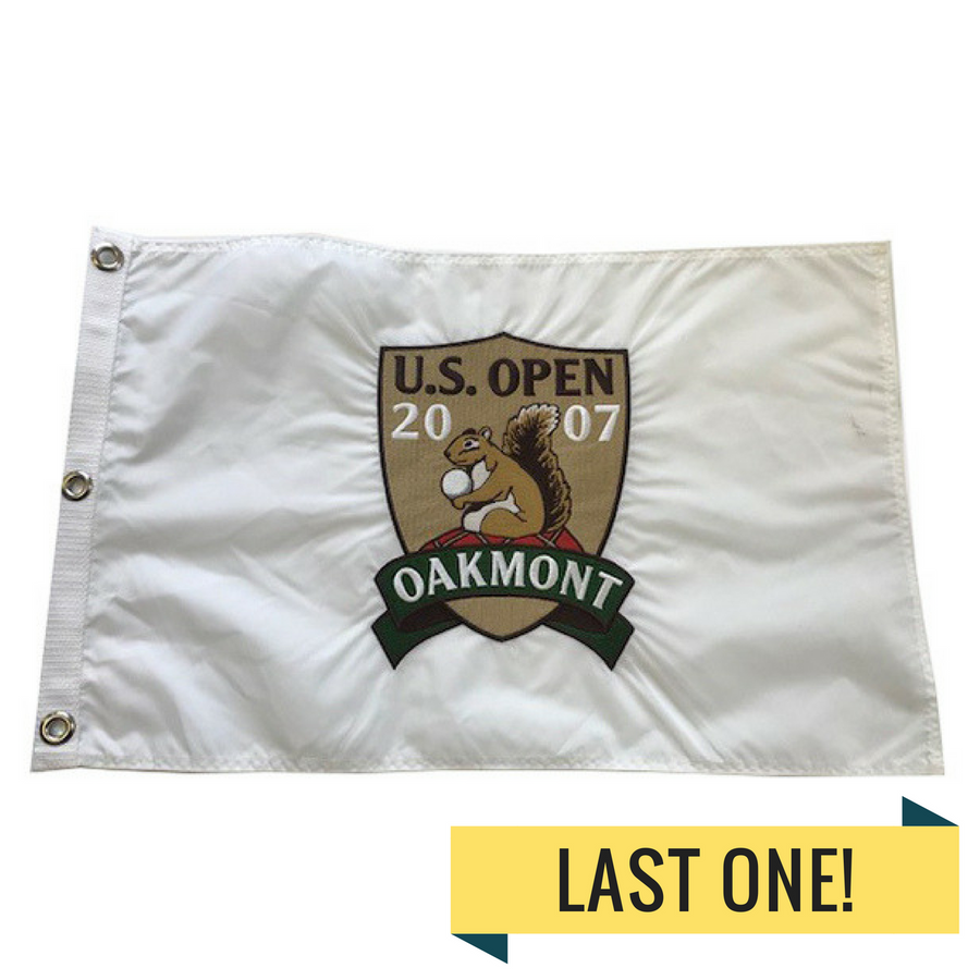 2007 US Open Embroidered Pin Flag- Oakmont