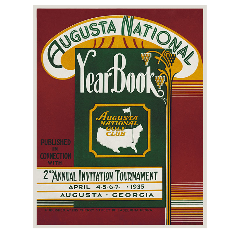 Masters 1935 Invitational Poster