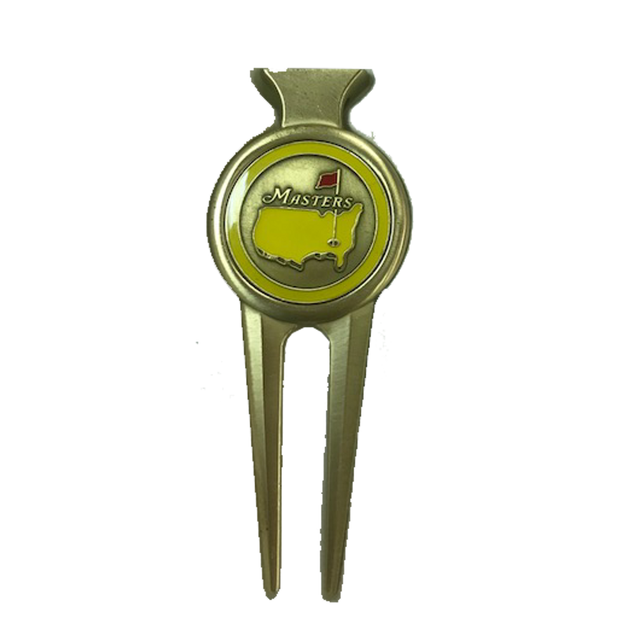 Masters Yellow & Gold Divot Tool