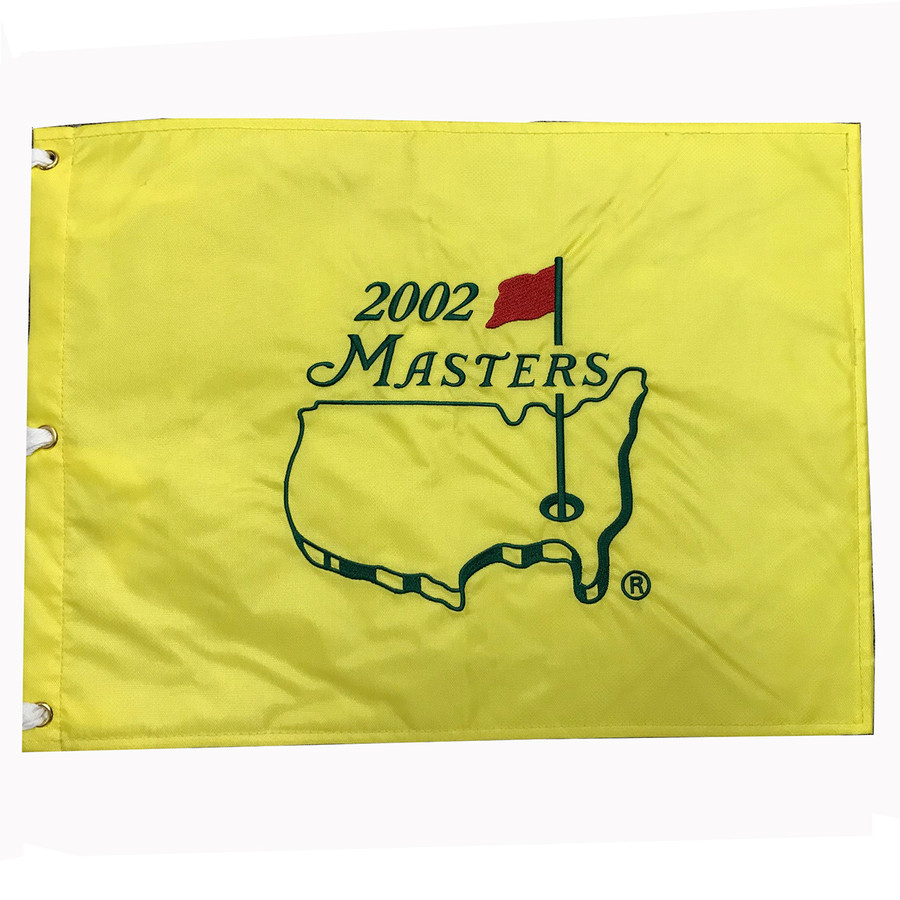 2002 Masters Embroidered Golf Pin Flag
