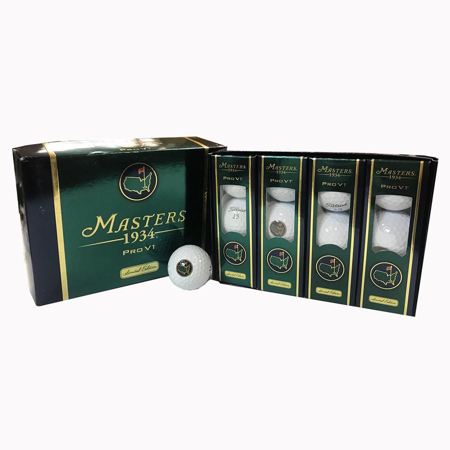 1934 Masters Limited Edition Golf Balls - Dozen - Pro V1