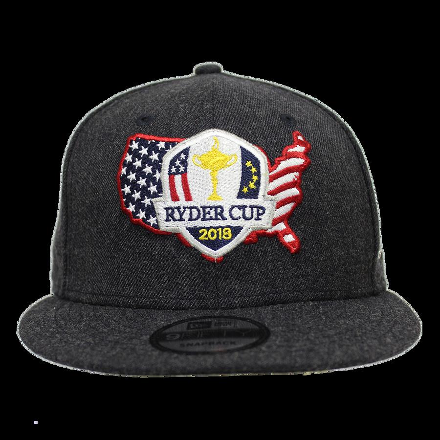 2018 Ryder Cup USA New Era Snapback Hat- Navy Wool