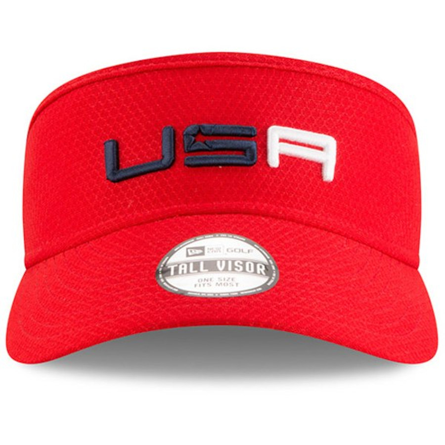 Complete your outfit with this New Era Tech Visor that Team USA is wearing  on Sunday 52749c615cb
