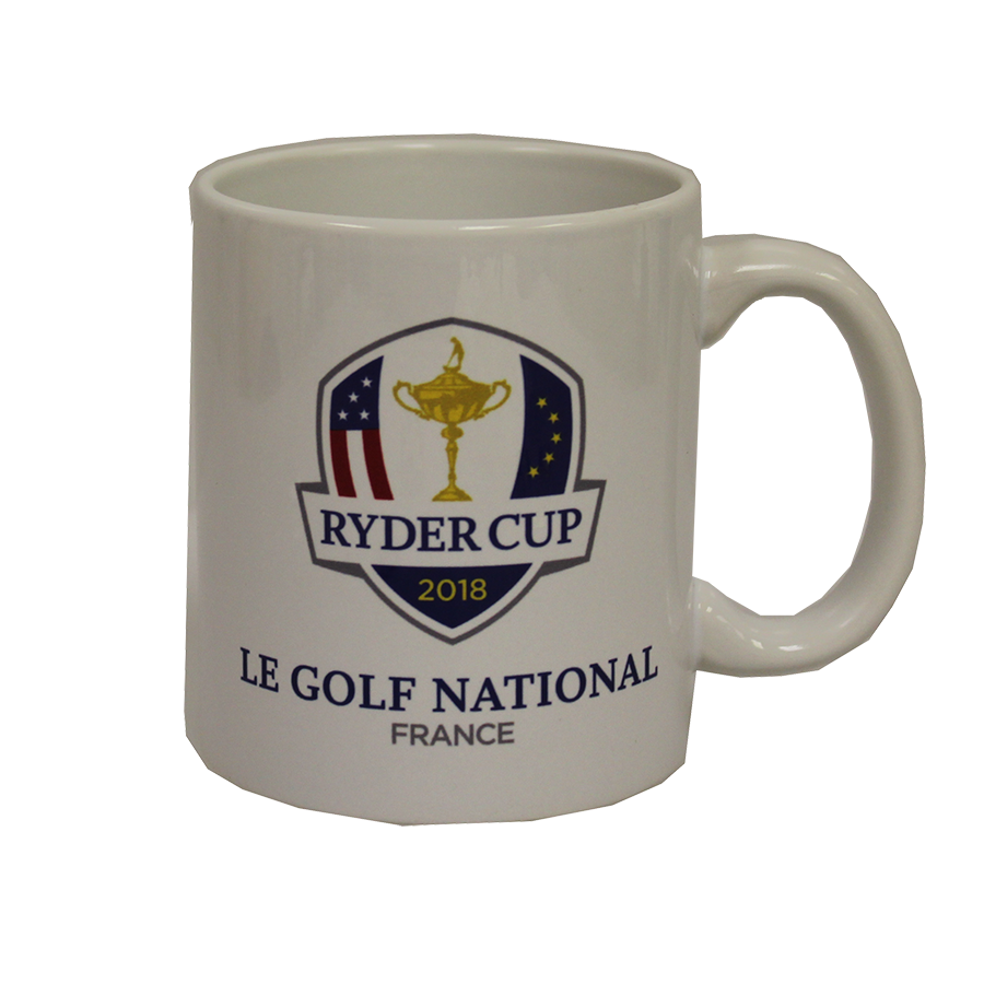 2018 Ryder Cup White Coffee Cup