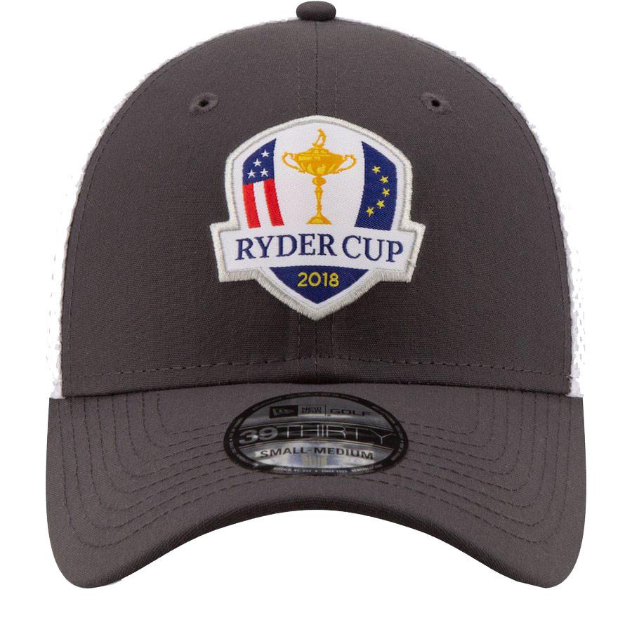 2018 Ryder Cup New Era Hat- 39Thirty Flex Fit- Gray 6af7baaa5fe