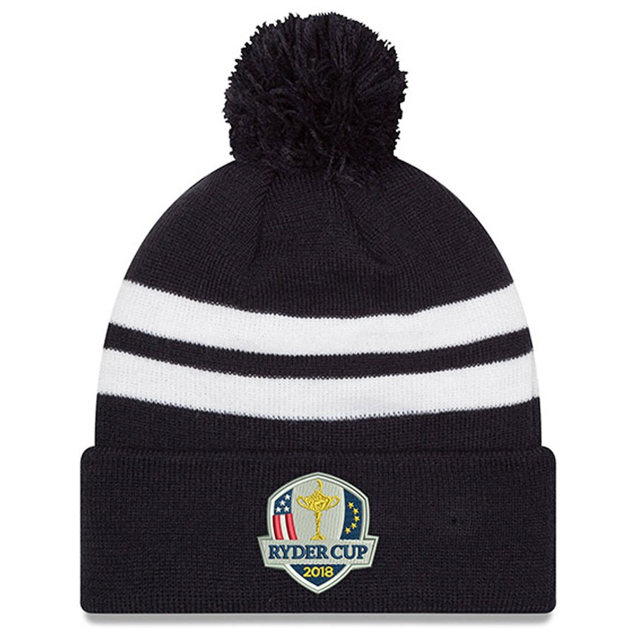 2018 Ryder Cup Knit Beanie in Navy